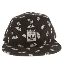 Adidas Black & White Five Panel Superstar Caps and Hats