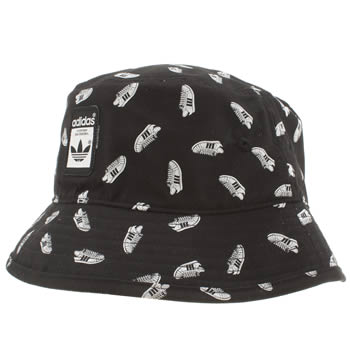 Adidas Black & White Bucket Superstar Caps and Hats