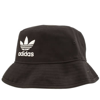 Adidas Black & White Bucket Hat Caps and Hats
