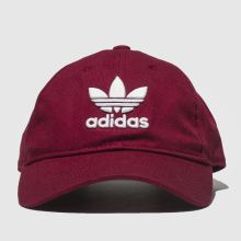 Adidas Burgundy Trefoil Cap Caps and Hats