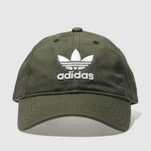 Adidas Khaki Trefoil Caps and Hats