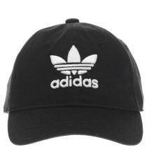 Adidas Black Trefoil Cap Caps and Hats