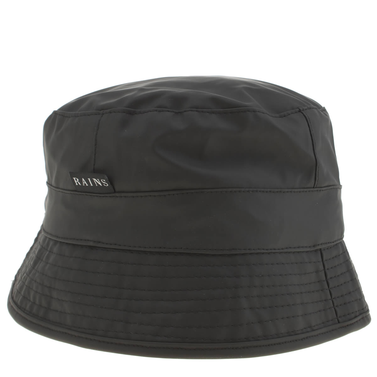Rains Rains Black Bucket Hat Caps And Hats