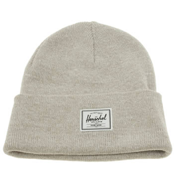 Herschel Natural Elmer Beanie Hat Adults Hats