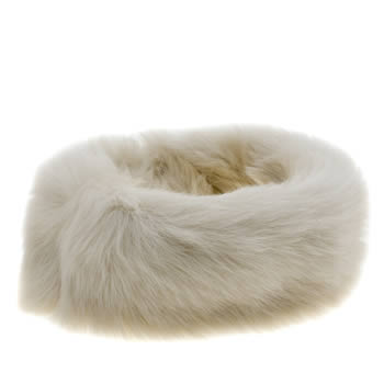 Ugg Australia Beige Layna Long Pile Headband Adults Hats