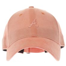 New Era Peach 9forty Felt Atlanta Braves Caps and Hats