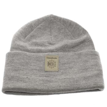 Reebok Grey Classic Foundation Beanie Caps and Hats
