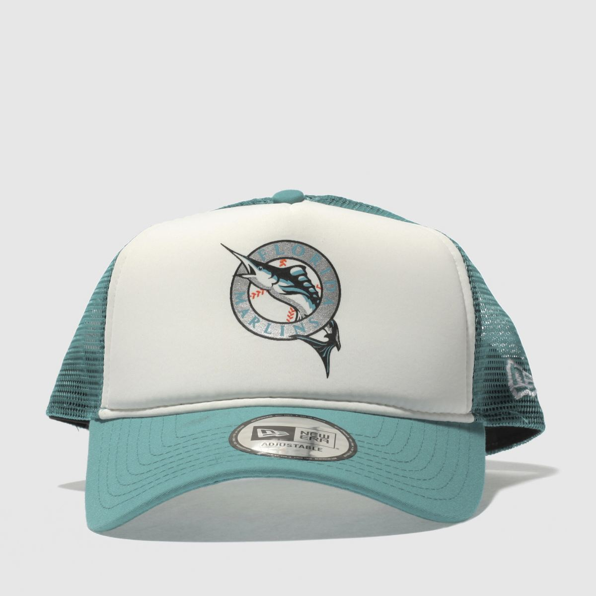 New Era New Era Turquoise Coast To Coast Trucker