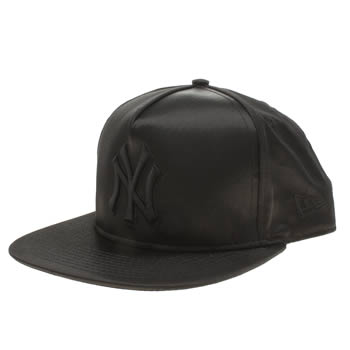 New Era Black Ny Satin 9fifty Caps and Hats