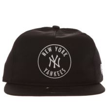 New Era Black & White 9fifty Emblem Yankees Caps and Hats
