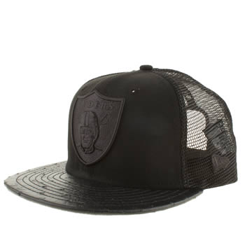 New Era Black Oak Raiders Ostravize 9fifty Caps and Hats
