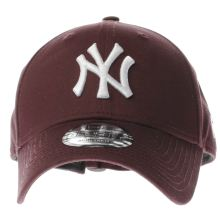 New Era Burgundy 9forty Ny Caps and Hats
