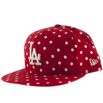 Accessories New Era Red La Dodgers 9fifty Caps and Hats