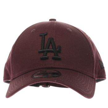 New Era Burgundy 9Forty League Essential Caps and Hats