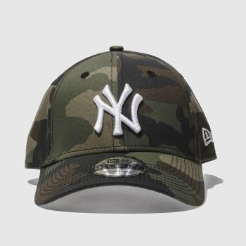 New Era Khaki 9Forty League Essential Caps and Hats