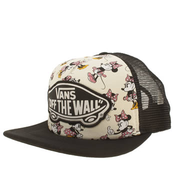 Vans Black & Pink Disney Trucker Minnie Mouse Caps and Hats