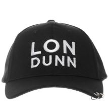 Missguided Black & White Londunn Ring Caps and Hats