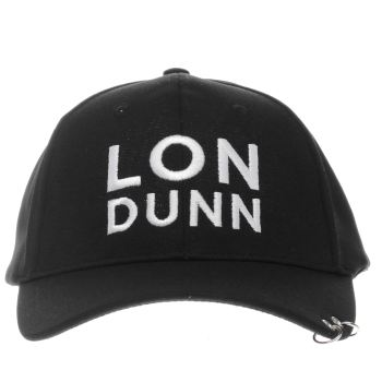 Missguided Black Londunn Ring Caps and Hats
