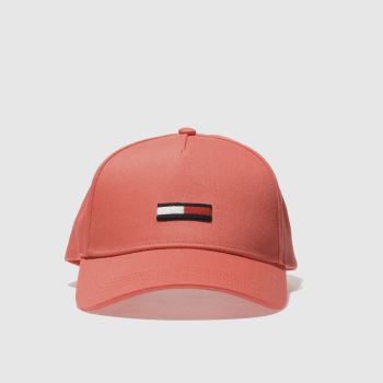 Tommy Hilfiger Orange Tj Flag Cap Caps and Hats