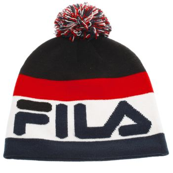 Fila Navy Stanco Beanie Caps and Hats