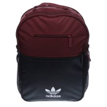 Adidas Burgundy Backpack Essentials Trefoil Bags
