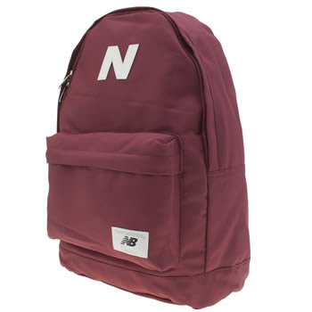New Balance Burgundy Mellow Backpack Bags