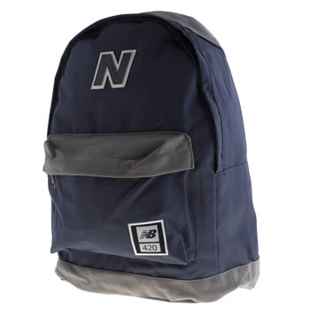 Accessories New Balance Navy & Grey 420 Bags