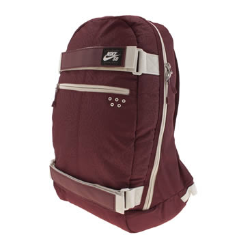 Nike Skateboarding Burgundy Embarca Medium Bags