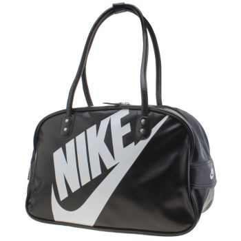 Nike Black & White Heritage Si Club Bags