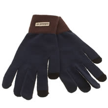 Adidas Navy Smartphone Gloves Apparel