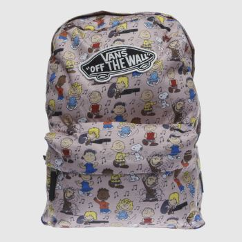Vans Pink REALM PEANUTS DANCE BACKPACK Bags