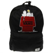 Vans Black & Red Realm Peanuts Bags