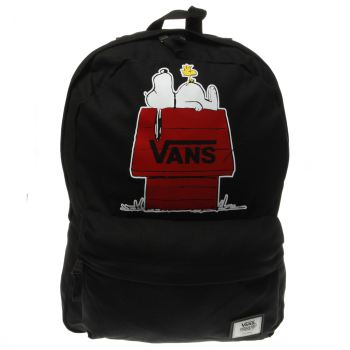 ACCESSORIES VANS BLACK & RED REALM PEANUTS