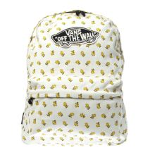 Vans White & Yellow Realm Peanuts Woodstock Bags
