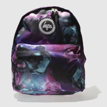 Hype Black & Purple LUNA Bags