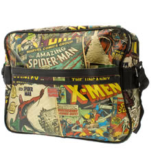 Multi Marvel Messenger Bag