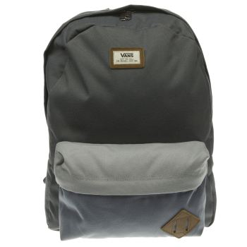 Vans Grey Old Skool Ii Backpack Bags