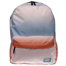 Vans Pl Blue & Red Realm Backpack Gradient Bags
