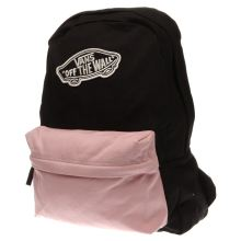 Vans Black & pink Realm Backpack Bags
