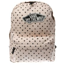 Vans Pink & Black Realm Backpack Bags