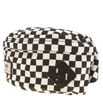 Vans Black & White Aliso Hip Pack Bags