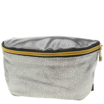 Accessories Mi Pac Silver Pebbled Bum Bag Bags