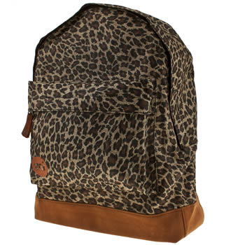 Mi Pac Brown & Black Leopard Bags