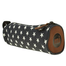 Navy & White Mi Pac All Stars Pencil Case