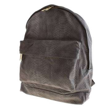 Accessories Mi Pac Grey Gold Snake Bags