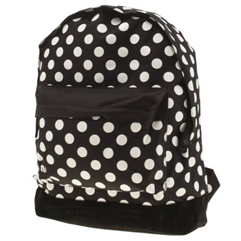 Mi Pac Black & White All Polka Classic Bags