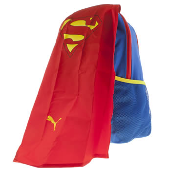 Puma Blue Superman Cape Bags