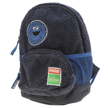 Puma Navy Cookie Monster Backpack Bags