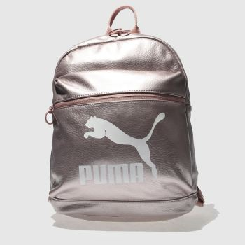 Puma Pink Prime Backpack Metallic Bags