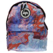 Hype Purple & Blue Elegance Backpack Bags